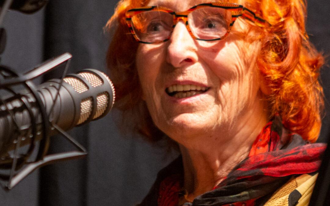 Maria Anna Weber (1946), Mitarbeiterin und Partnerin des Künstlers Bruno Weber (1931 bis 2011) #KulturDietikon